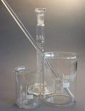 стеклянная лаборатория Стоковые Фотографии RF