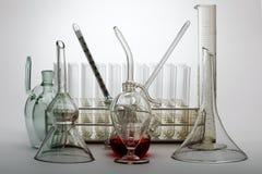 стеклянная лаборатория Стоковые Изображения RF
