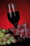 стеклянная лоза виноградин Стоковые Изображения RF