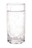стеклянная минеральная сверкная вода Стоковое Изображение