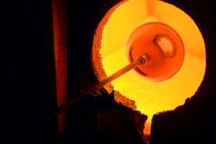 стеклянная печь Стоковые Изображения RF