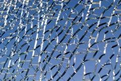 стеклянная поломанная форточка Стоковое фото RF