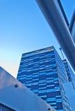 стеклянная самомоднейшая стена небоскреба Стоковое Фото