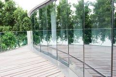 стеклянная стена Стоковая Фотография