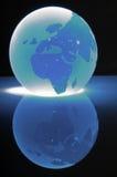 стеклянная сфера карты Стоковая Фотография RF
