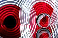 Стеклянная сфера отражая красочный свет Стоковая Фотография RF