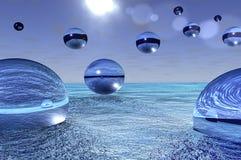 стеклянная сфера Стоковая Фотография