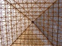 стеклянная текстура пирамидки стоковая фотография