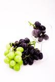 стеклянное вино виноградин Стоковые Фотографии RF