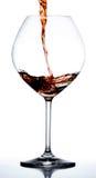 стеклянное вино Стоковые Изображения