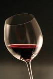 стеклянное красное вино Стоковое фото RF