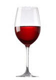 стеклянное красное вино Стоковая Фотография RF