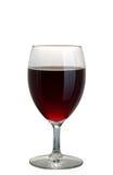 стеклянное красное вино Стоковое Изображение RF