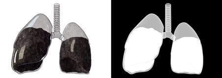 Стеклянное легкий Иллюстрация вектора