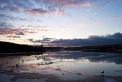 стеклянное озеро Стоковые Изображения