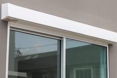 Стеклянное окно дома Стоковые Фотографии RF