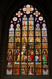 стеклянное окно пятна стоковая фотография