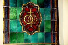 стеклянное пятно Стоковая Фотография