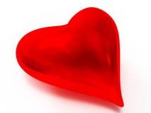 стеклянное сердце Стоковые Фото