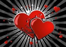 стеклянное сердце Стоковая Фотография RF