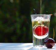 стеклянное liquere Стоковая Фотография RF