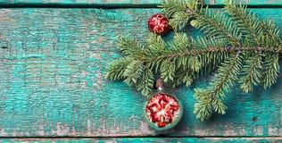 Стеклянные безделушки рождества Стоковые Изображения RF