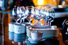 стеклянные блюда Стоковая Фотография RF