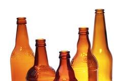 Стеклянные бутылки Стоковое фото RF