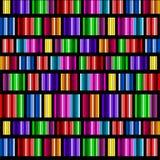 стеклянные запятнанные спектры иллюстрация штока