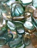 стеклянные камни стоковые фотографии rf