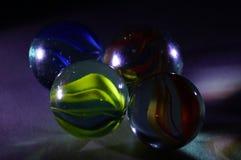 Стеклянные мраморные шарики Стоковое Изображение RF