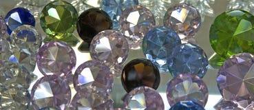 стеклянные мраморы Стоковые Фотографии RF