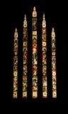 стеклянные окна пятна Стоковое Изображение