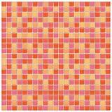 стеклянные померанцовые розовые плитки Стоковые Изображения