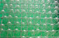 Стеклянные пробирки готовые для эксперимента в scie Стоковая Фотография