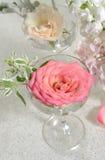 стеклянные розы Стоковые Изображения RF