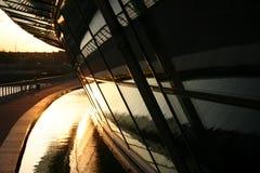 стеклянные самомоднейшие стены Стоковые Фото