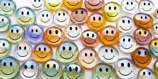 стеклянные сферы smilies Стоковые Фотографии RF