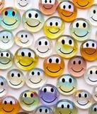 стеклянные сферы smilies Стоковые Фото