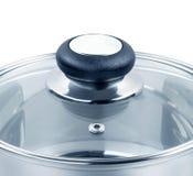стеклянный бак крышки стоковая фотография rf