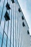 Стеклянный бизнес-центр Конец-вверх стоковые изображения