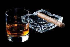 стеклянный виски Стоковые Фотографии RF