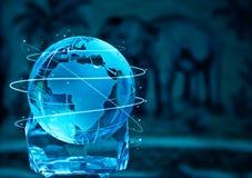 Стеклянный глобус Стоковые Изображения RF