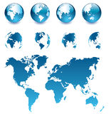 стеклянный глобус Стоковые Изображения