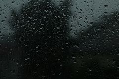 Стеклянный дождь Стоковые Фотографии RF