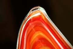 стеклянный красный цвет Стоковые Фото