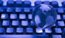 стеклянный мир глобуса Стоковая Фотография RF