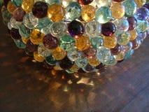 стеклянный мрамор светильника Стоковое Фото