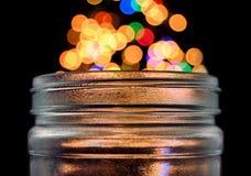 стеклянный опарник волшебный стоковые фотографии rf