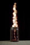 стеклянный опарник волшебный стоковое изображение